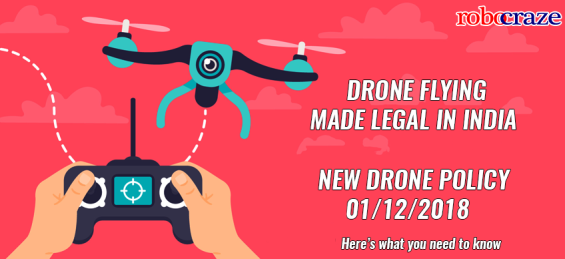 Drone Updated Policy India